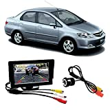 #10: Fabtec Premium Quality 5.0 inch Full Hd Dashboard Screen with LED Night Vision Water Proof Car Rear View Reverse Parking Camera Free for Honda City ZX