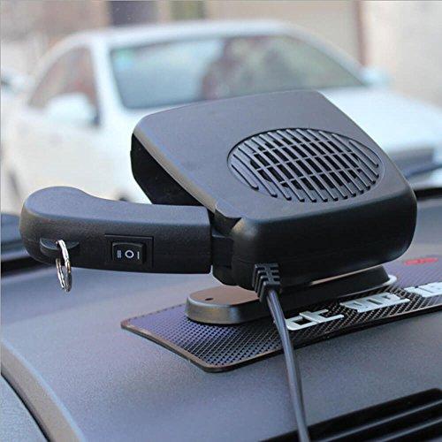 Preisvergleich Produktbild Enshey Auto Keramik Heizung Defroster Demister und Kühler Lüfter Fan für Fahrzeug Windschutzscheibe oder Cockpit – 12 V 150 W