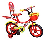 #7: NY Bikes Steel Racer 14T Kids' Bicycle, 14 Inches (Red and Yellow)