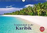 Traumstrände in der Karibik (Wandkalender 2017 DIN A4 quer): Eine Reise zu den schönsten Stränden in der Karibik (Geburtstagskalender, 14 Seiten) (CALVENDO Natur) - Elisabeth Stanzer