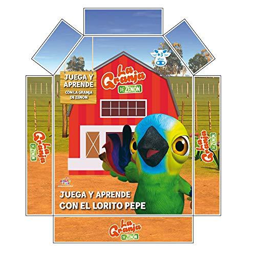 La Granja de Zenón- Juega y aprende con el Lorito Pepe...