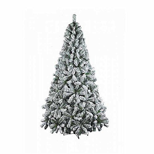 Albero di Natale Artificiale Verde Innevato Dolomiti 210cm