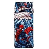 Bassetti Spider-Man Komplett Bettbezug, Baumwolle, Blau, Single, 200x 155x 0.1cm, 3Einheiten in