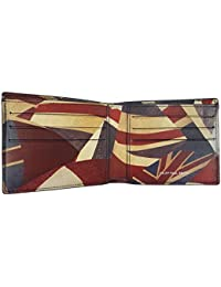 f90431d5b0 PS by Paul Smith 'Union Jack' Men's Navy Blue Leather Billfold Wallet - Gift