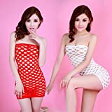 HYW Hot Sleeve Clothes Body Lose Nahtlose Kragen Transparente Transparente Runde Loch -