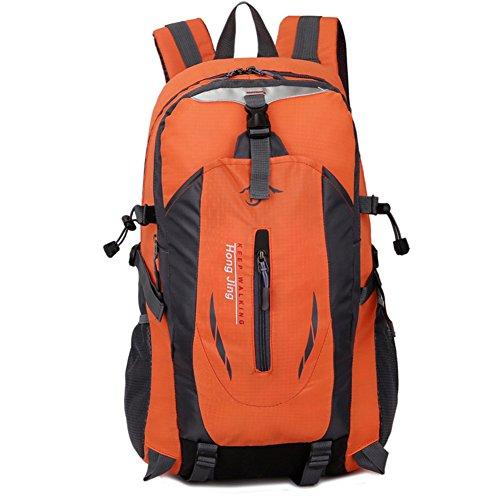 Joy ousac Outdoor alpinismo tasche unisex umh?ngetasche Sport Tempo libero Borsa da viaggio, Orange Orange