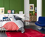 CHUNKY GRAPH en soldes - Parure de lit pour 2 personnes : Housse de couette 240x220 cm + Taies d'oreiller 65x65 cm