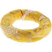 MagiDeal Coussin Bol Chantant Tibétain Anneau-forme en Soie pour Bouddhistes 10cm