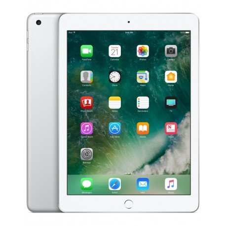 iPad 9,7' Wi-Fi 128 GB Plata