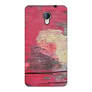 Enticing Vintage Red Yellow Print Back Case Cover for Micromax Unite 2 A106