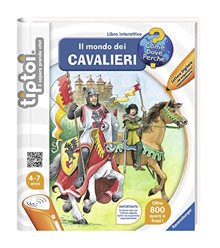 Ravensburger 00655 - Tiptoi Libro Il Mondo dei Cavalieri