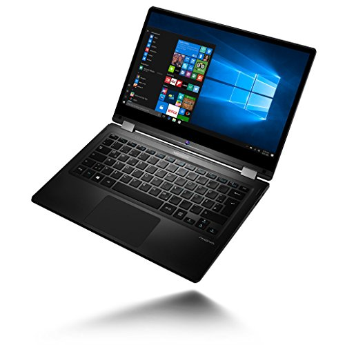MEDION AKOYA E3213 MD 60793 338cm 133 whole HD monitor Convertible contact Notebook Intel Celeron N3450 4GB RAM 64GB flash Speicher Intel HD Grafik Win 10 home silber Notebooks