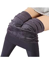 Pantalones - GillBerry Mujer Niña Grueso Calentar Invierno Los Pantalones EláSticos