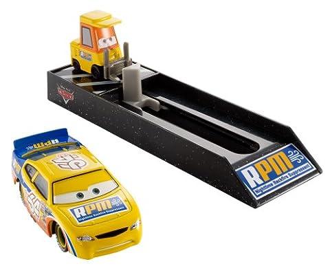 Mattel BGF11 - Disney Pixar Cars - Pit Crew Starter – RPM No.64 [UK Import] (Diecast Pit)