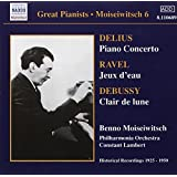 Great Pianists - Moiseiwitsch Vol 6