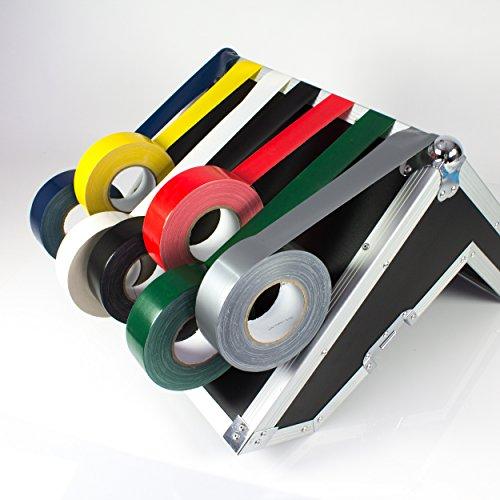 Gaffa Tape gelb, 50m x 50mm - Gewebeklebeband / Gaffer Klebeband - showking