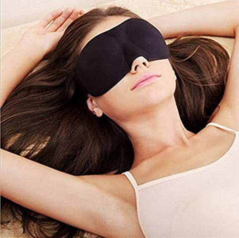 senru 3D Schlafmaske Verbessertes Design leichtes Qualität Baumwolle 5Farbe erhältlich, Relax Your Eyes, besser schlafen
