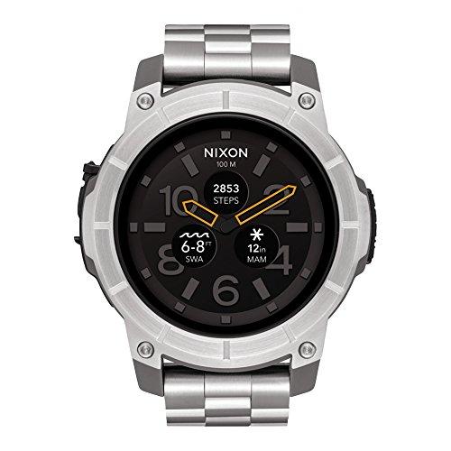 Reloj NIXON Mission SS Silver A1216130 Hombre Acero