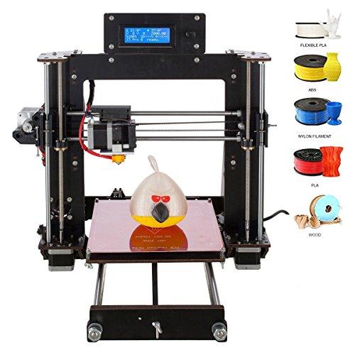 AA + inks A83d impresora Prusa I3DIY Profesional LCD 100mm/s Max DIY 1.75mm ABS Filamento de PLA 3d Desktop Printer Kit