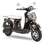 Elektroroller Classico Li, 3000 Watt, E-Scooter, Elektro-Roller, E-Roller mit Straßenzulassung, 45 km/h, herausnehmbarer Lithium-Akku, Produktvideo