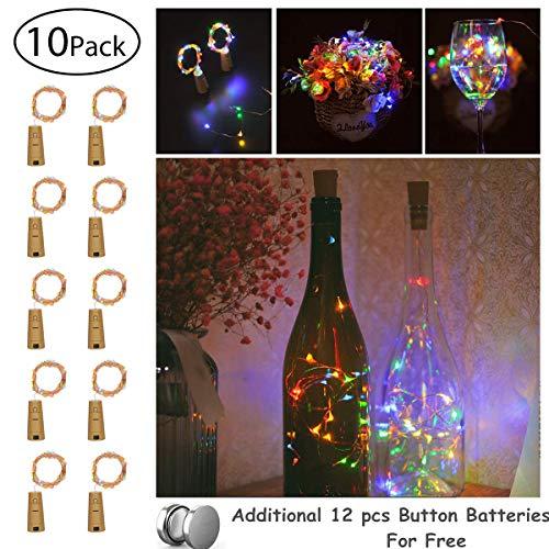10 x 20 LEDs Guirnaldas luminosas Multicolor