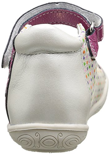 Babybotte Sitron, Babies fille Blanc (128 Blanc Pois Multi)