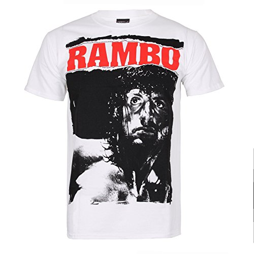 Rambo Men's Rambo Stare Short Sleeve T-Shirt