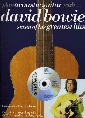 Partition : Play Acoustic Guitar With David Bowie + CD par David Bowie