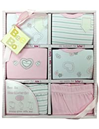 Now & Later Baby Clothes Set By Bee Bo Size 0-3 Months & 3-6 Months - Pink