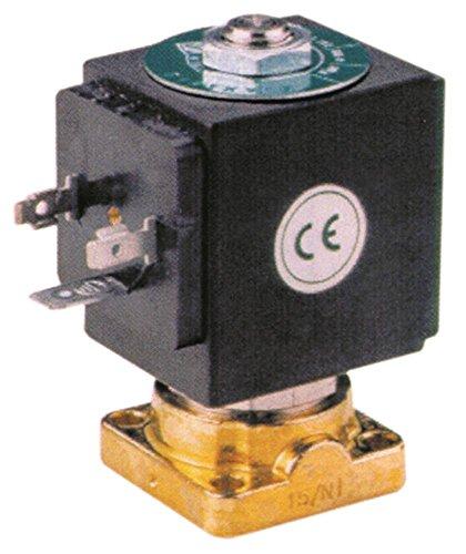 ODE Magnetventil für Kaffeemaschine BFC Lira, ssica-2-3-4gr, DeLux-2-3-4gr mit Dichtung Silikon 230V 2-Wege DN 2,5 14bar 50/60Hz
