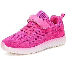 Ansel-UK LED Zapatos Verano Ligero Transpirable Bajo 7 Colores USB Carga Luminosas Flash Deporte