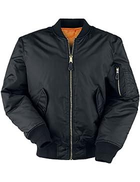 Brandit Mens Jacket MA1, Farbe:schwarz;Größe:S
