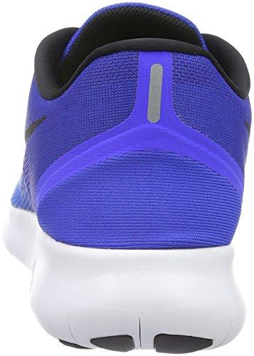 Nike Free Rn, Chaussures de Running Homme, Vert Bleu (Blue Glow/Black/Racer Blue)