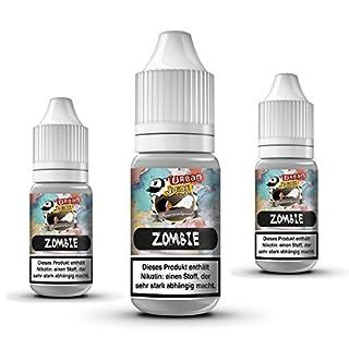 Urban Juice 30ml E-Liquid für E Zigaretten Elektrische Zigarette E Shisha E-Liquids Nikotinfrei Zombie Die pure Waldbeeren lassen uns zum Zombie werden