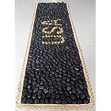eliteshinenatural alfombrilla de masaje de piedra Pebbles Walkway alfombrilla de reflexología salud Yoga alfombrilla cocina alfombra