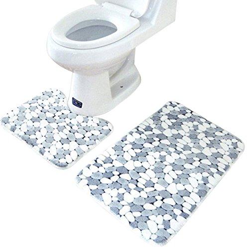 New Qualifizierten Hot Verkauf 2Teppich Memory Foam Badezimmer Teppich Matte Boden Teppich Set dec31