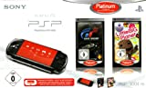 PlayStation Portable - PSP Konsole Slim & Lite 3004, black + Gran Turismo und Little Big Planet