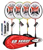 #4: Silver SB 719 Badminton Combo (7 Pieces)