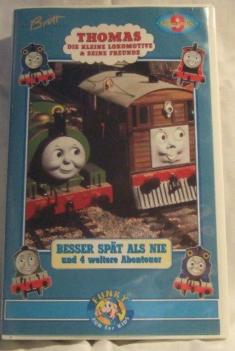 Preisvergleich Produktbild Thomas - Die kleine Lokomotive und seine Freunde 09: Besser spät als nie u. a. [VHS]