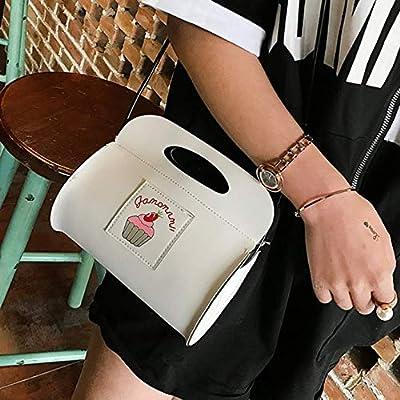 Lynn025Keats Nettes Temperament tragbare Abendessen Tasche Weiß