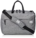 Herschel Sandford Laptop Schoudertas Raven Crosshatch
