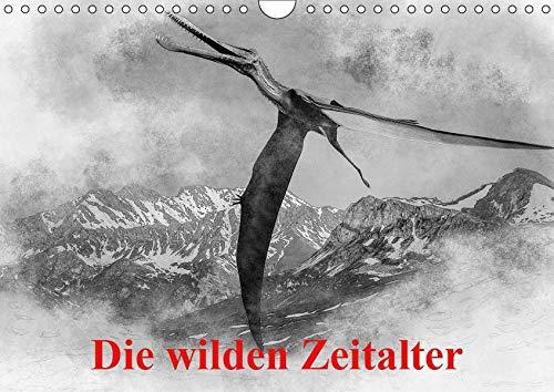 Die wilden Zeitalter (Wandkalender 2019 DIN A4 quer): Überblick über Tiere, die einst unser Land bewohnten. (Monatskalender, 14 Seiten ) (CALVENDO Natur)