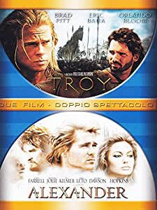 Troy + Alexander [3 DVDs] [IT Import]