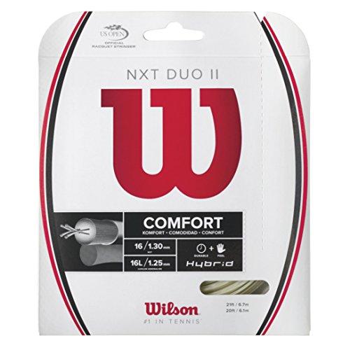 Wilson Tennissaiten NXT Duo II, Natural, 200m, WRZ948900