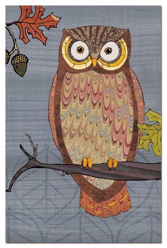 Tree-Free Greetings 66516 Grußkarten mit Umschlägen, 10 x 15 cm, Eulen II, Motiv Paul Brent Art - 2 Bottle Stopper