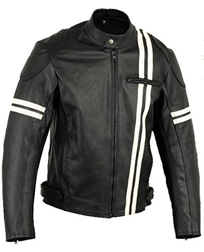 Veste de protection en cuir moto Mode X-Men, Vêtements