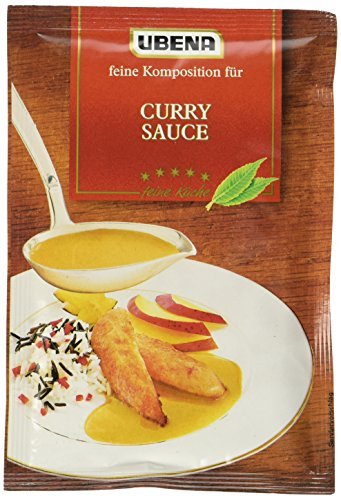 Ubena Curry Sauce, 6er Pack (6 x 40 g)