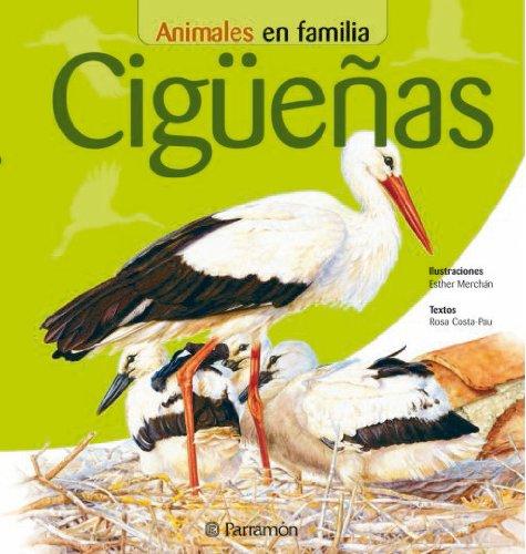 Animales En Familia. Cigüeñas por ROSA COSTA-PAU