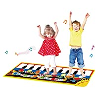 CYMY Piano Music Dance Mat for Kids - Best Gifts