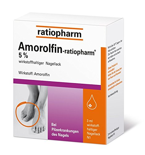 Amorolfin-ratiopharm 5% 3 ml
